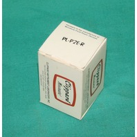 Clippard Minimatic PL-P2E-R Push Button Red NEW