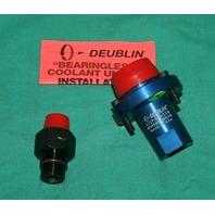 Deublin 1117-058-116 Bearingless Coolant Union M16X1.5 LH 18mm NEW