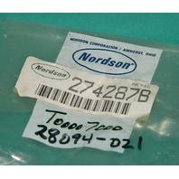 Nordson 274287B Inline Filter Assembly 90deg 50Mesh NEW