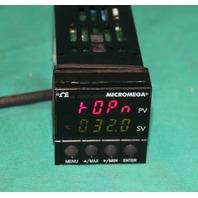 Omega CN77343 Micromega Progarammable Temperature Controller