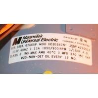 Magnetek Universal DE3D387N 4210512 Electric Motor Fan 1.11A 115V 1/15HP NEW