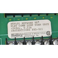 Bailey, NTPL01, Network 90 Communication Loop Termination Unit NEW