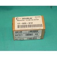 Deublin 17-025-012 Hydraulic Rotary Union UNF RH Rotor 5/8-18 NEW
