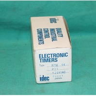 Idec RTE-P21 Timing Relay 120VAC 120v NEW