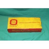 Ohmite, 270-175P.46, Vitreous Enameled Resistor No.0702 50 ohms 175 Watts 175w