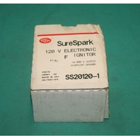 Fireye, SS20120-1, Sure Spark 120V Electronic Constant Duty Ignitor NEW