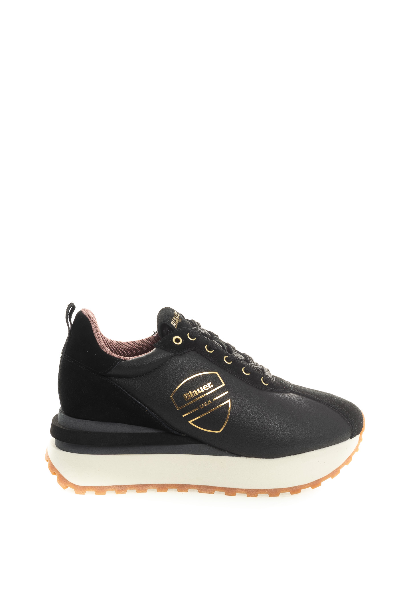 MABEL01LEATHER/SUEDE-BLACK