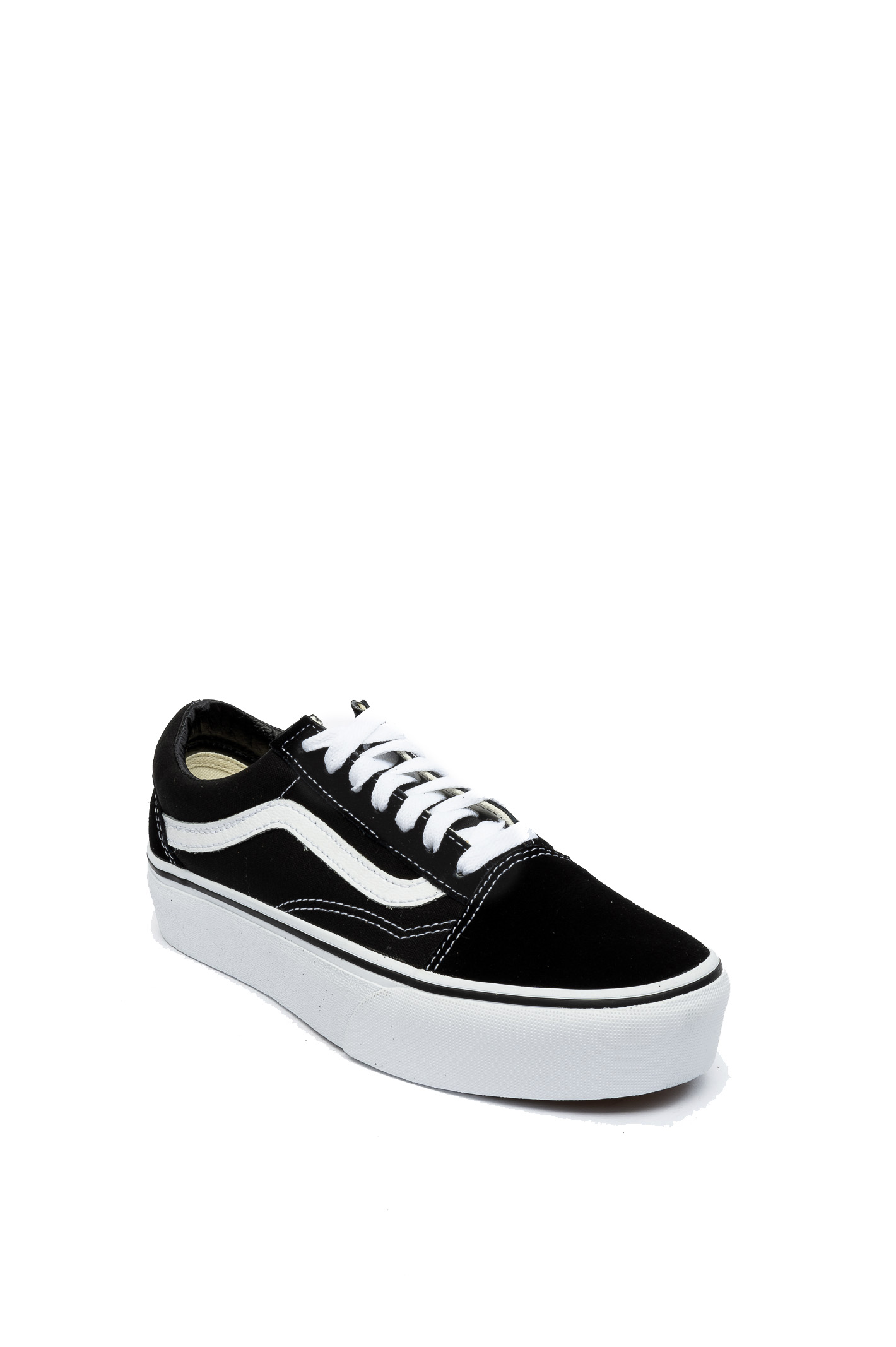 VN0A3B3UY281OLD SKOOL-PLAT-BLK/WHI