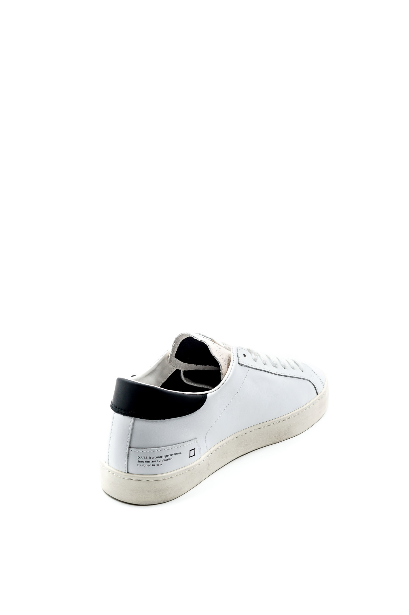HILL LOW CALFCALF-WHITE/BLACK
