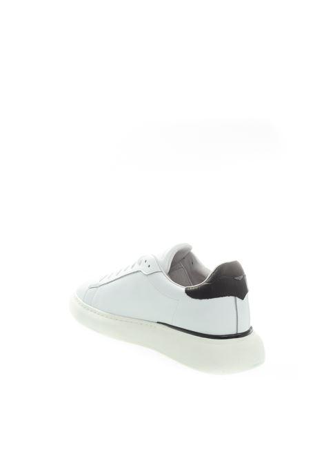Sneaker logo bianco ALBERTO GUARDIANI | Sneakers | 3703PELLE-WHITE