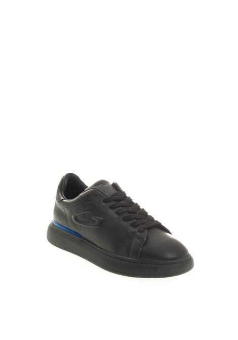 Sneaker logo nero ALBERTO GUARDIANI | Sneakers | 3706PELLE-NERO