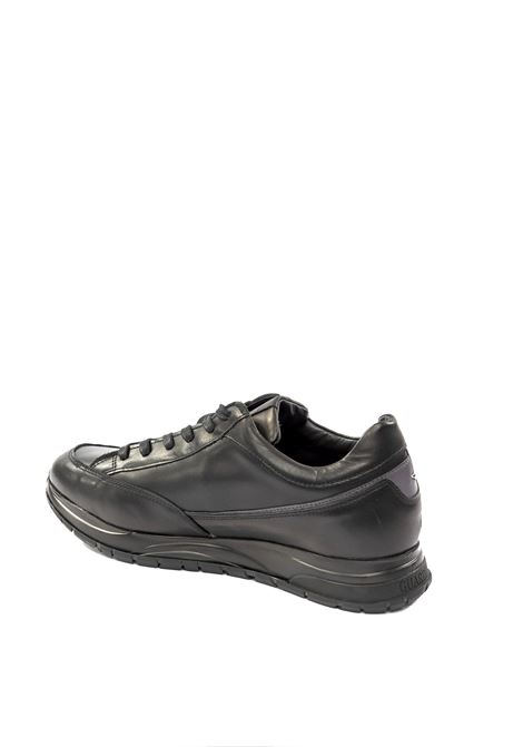 Sneaker pelle nero ALBERTO GUARDIANI | Sneakers | 4804PELLE-NERO