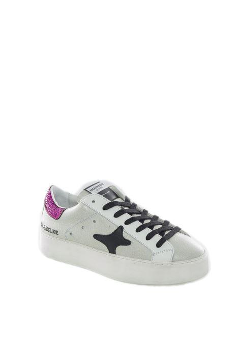 Sneaker metal bianco/fucsia AMA BRAND DELUXE | Sneakers | 1609LAM-BIANCO/FUXIA