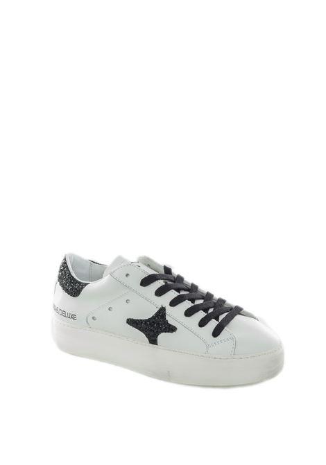 Sneaker double pelle bianco AMA BRAND DELUXE | Sneakers | 1610PELLE-BIANCO/NERO