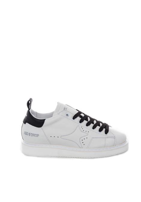 Sneaker logo bianco/nero AMA BRAND DELUXE | Sneakers | 1662PELLE-BIANCO/NERO