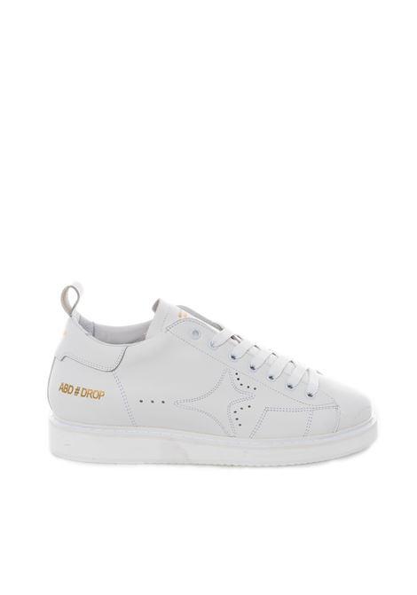 Sneaker pelle bianco AMA BRAND DELUXE   Sneakers   1670PELLE-BIANCO