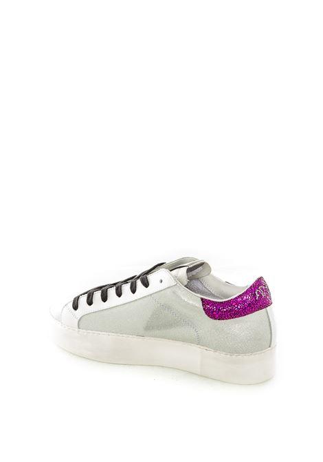 Ama brand sneaker metal bianco/fucsia AMA BRAND | Sneakers | 1609LAM-BIANCO/FUXIA