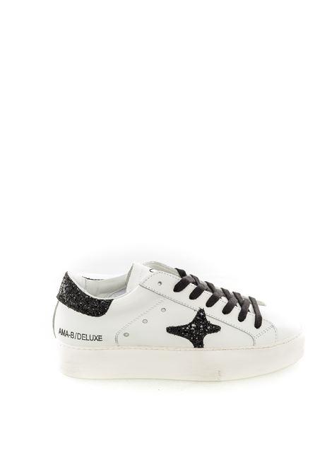Ama brand sneaker double bianco AMA BRAND   Sneakers   1610PELLE-BIANCO/NERO