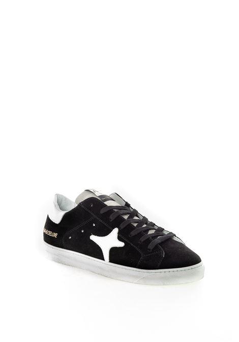Sneaker camoscio nero AMA BRAND DELUXE | Sneakers | 1624CAMOSCIO-NERO