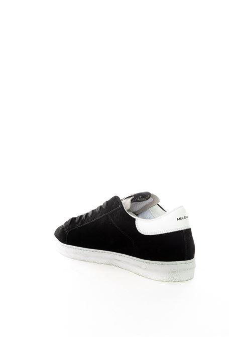Ama brand sneaker camoscio nero AMA BRAND | Sneakers | 1624CAMOSCIO-NERO