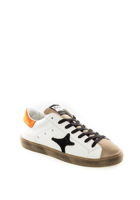 Sneaker bianco/taupe AMA BRAND | Sneakers | 1629PELLE/CAM-BIA/TAUPE
