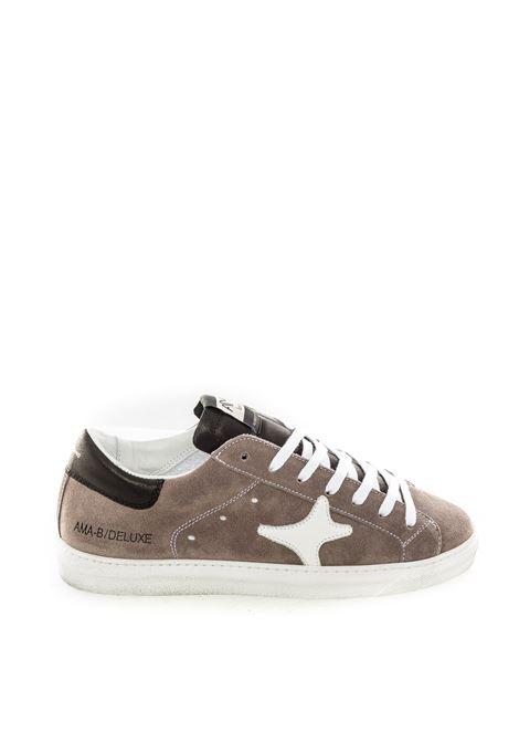 Sneaker camoscio grigio AMA BRAND DELUXE | Sneakers | 1632CAMOSCIO-GRIGIO