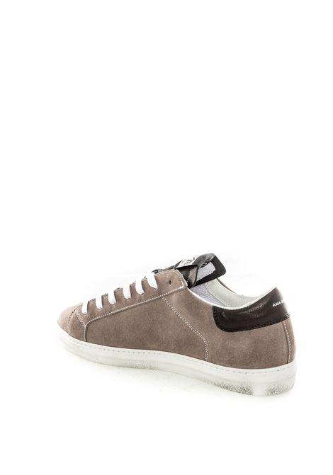 Sneaker camoscio grigio AMA BRAND | Sneakers | 1632CAMOSCIO-GRIGIO