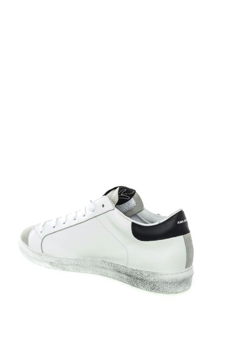 Ama brand sneaker bianco/grigio AMA BRAND | Sneakers | 1633PELLE/CAM-BIANCO/NERO