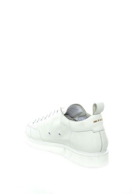 Ama brand sneaker pelle bianco AMA BRAND | Sneakers | 1670PELLE-BIANCO