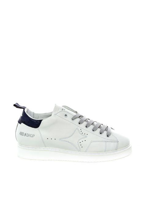Sneaker pelle bianco/blu AMA BRAND DELUXE | Sneakers | 1671PELLE-BIANCO/BLU