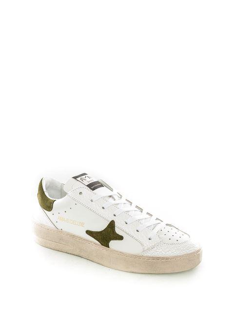 Sneaker vintage bianco/nero AMA BRAND DELUXE | Sneakers | 1693PELLE-BIANCO/NERO