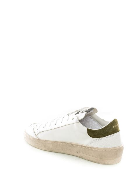 Sneaker vintage bianco/nero AMA BRAND | Sneakers | 1693PELLE-BIANCO/NERO