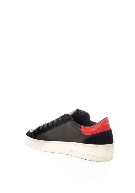 Sneaker nero/rosso AMA BRAND DELUXE | Sneakers | 1694PELLE-NERO/ROSSO