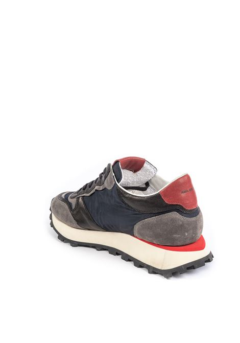 Sneaker nylon blu AMA BRAND DELUXE | Sneakers | 1706CAM/TES-NERO/GREY