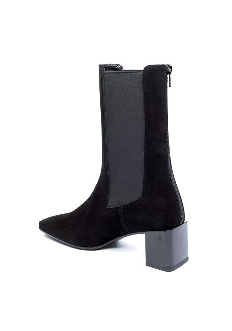 Stivale mid camoscio nero ASHLEY COLE | Stivali | 518CAM-NERO