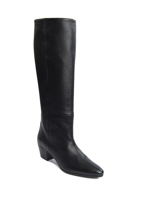 Camperos pelle nero ASHLEY COLE | Stivali | 630NAPPA-NERO