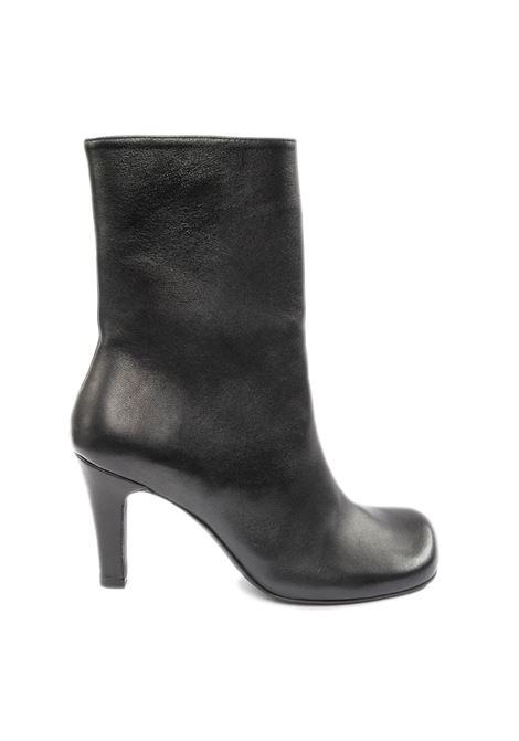 Tronchetto pelle nero ASHLEY COLE | Stivali | 679NAPPA-NERO