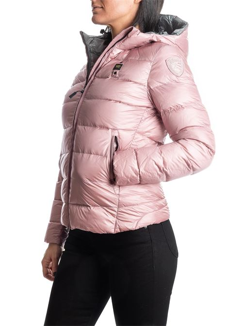Piumino corto rosa BLAUER | Piumini | 3128PIUMA-527PN