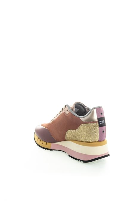 Blauer sneaker charlotte rosa BLAUER | Sneakers | CHARLOTTE08SUEDE/GLITTER-PINK
