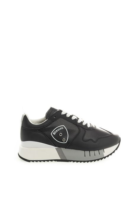 Blauer sneaker myrtle nero BLAUER | Sneakers | MYRTLE02LEATHER-BLACK