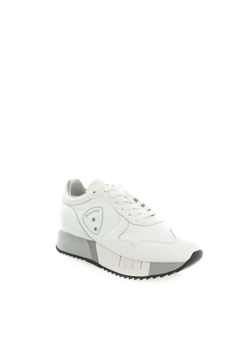 Blauer sneaker myrtle bianco BLAUER | Sneakers | MYRTLE02LEATHER-WHITE