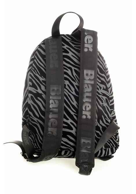 Blauer zaino zebrato nero BLAUER | Zaini | NEVADA 01DZEBRATO-BLACK