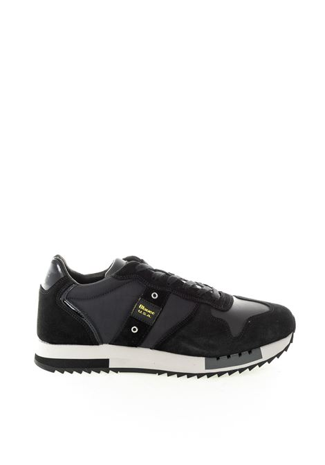 Blauer sneaker queens nero BLAUER | Sneakers | QUEENS01NYLON-BLACK