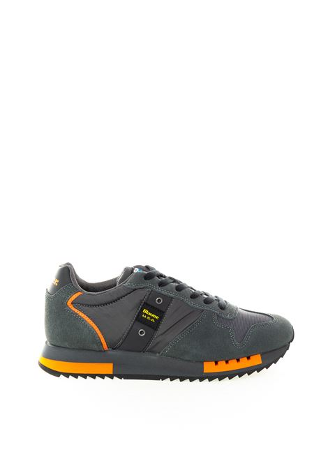 Blauer sneaker queens grigio BLAUER | Sneakers | QUEENS01NYLON-D.GREY
