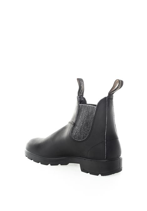 Beatles pelle nero/silver BLUNDSTONE FOOTWEAR | Anfibi | 2032LEATHER-BLACK/SILVER