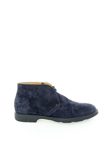 Brian cress polacchino softy blu BRIAN CRESS | Stringate | X111SOFTY-BLU