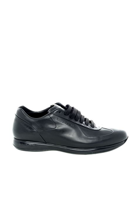 Brian cress sneaker living nero BRIAN CRESS | Stringate | X1LIVING-NERO