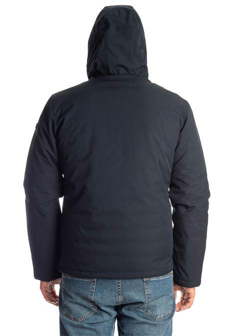 Giubbino corto cappuccio blu CENSURED | Giubbini | 204RTES-204