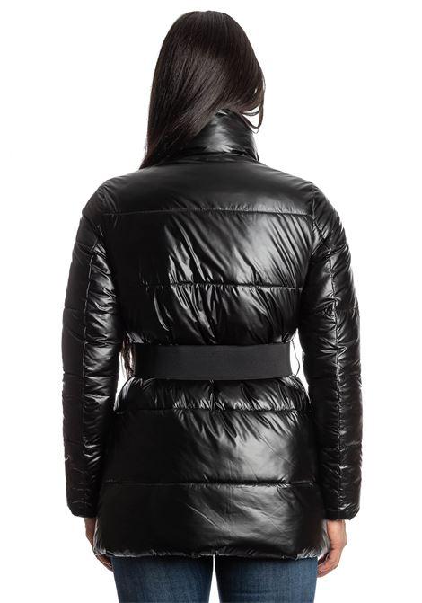 Piumino cintura nero CENSURED | Piumini | 3795TES-90