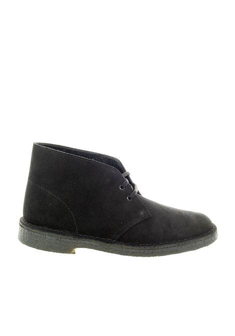 Polacchino desert boot nero CLARKS ORIGINAL | Stringate | 155480DESERTBOOT-BLACK
